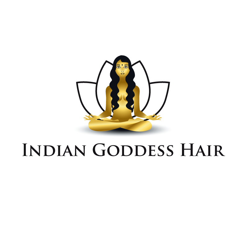 Logo Design by luna - Entry No. 7 in the Logo Design Contest Indian Goddess Hair LOGO DESIGN.