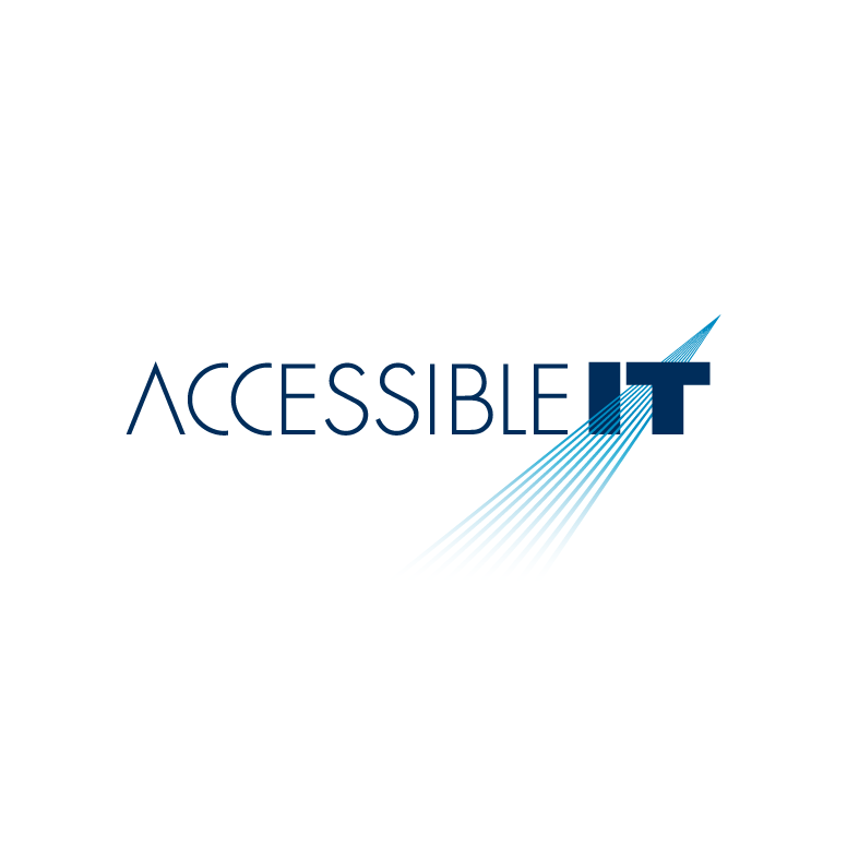 Logo Design by luna - Entry No. 289 in the Logo Design Contest Logo Design Needed for Exciting New Company Accessible IT.