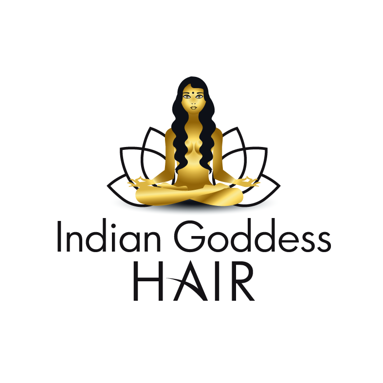 Logo Design by luna - Entry No. 8 in the Logo Design Contest Indian Goddess Hair LOGO DESIGN.