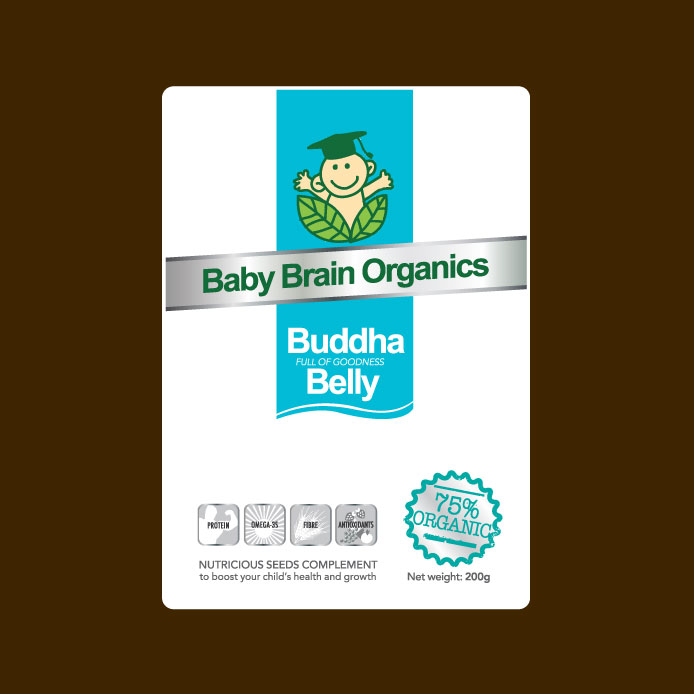Packaging Design by geisha - Entry No. 82 in the Packaging Design Contest Baby Brain Organics Packaging Design.