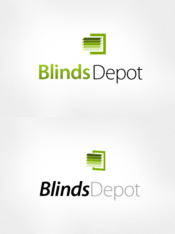 Logo Design by liboy - Entry No. 29 in the Logo Design Contest Logo Design Needed for Exciting New Company Blinds Depot.