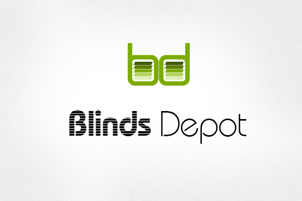 Logo Design by liboy - Entry No. 30 in the Logo Design Contest Logo Design Needed for Exciting New Company Blinds Depot.