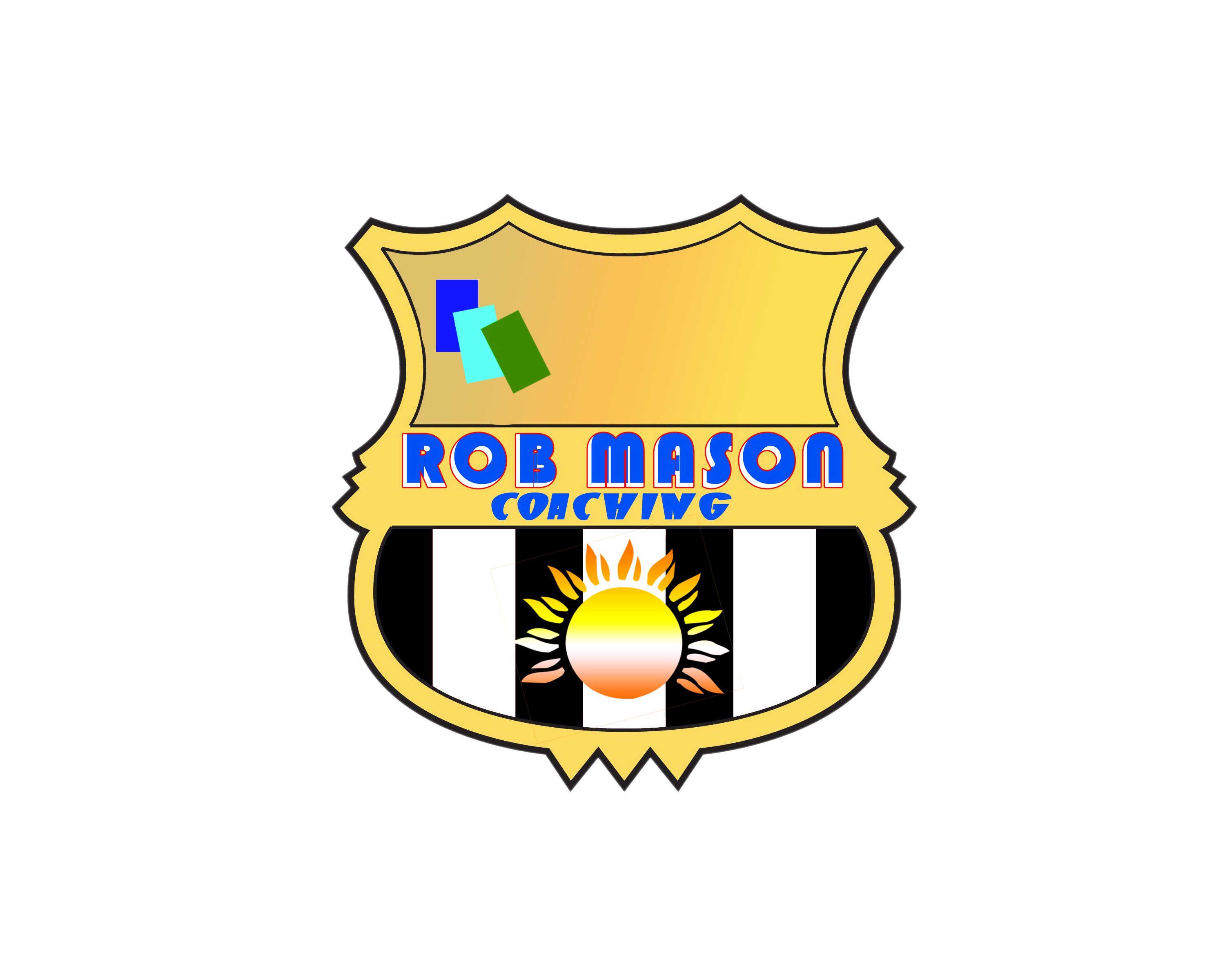 Logo Design by Arun David - Entry No. 52 in the Logo Design Contest New Logo Design Needed for Exciting Company Rob Mason Coaching.