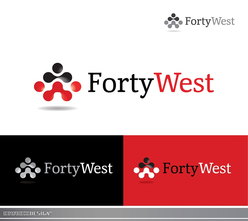 Logo Design by kowreck - Entry No. 1 in the Logo Design Contest Unique Logo Design Wanted for Forty West.