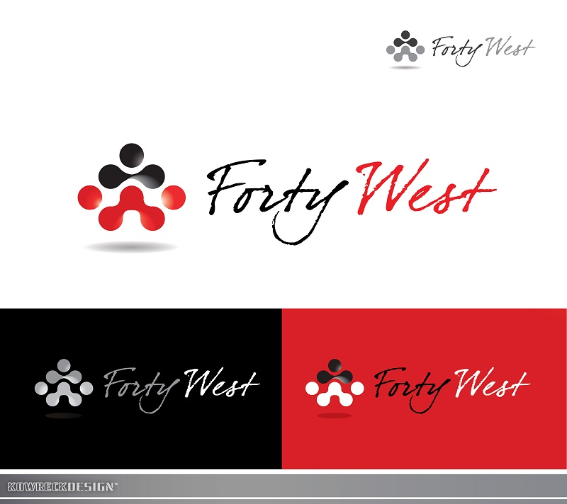 Logo Design by kowreck - Entry No. 2 in the Logo Design Contest Unique Logo Design Wanted for Forty West.