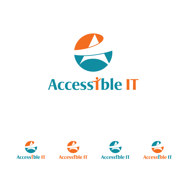 Logo Design by Private User - Entry No. 304 in the Logo Design Contest Logo Design Needed for Exciting New Company Accessible IT.