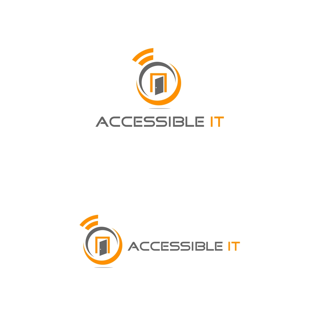 Logo Design by haidu - Entry No. 315 in the Logo Design Contest Logo Design Needed for Exciting New Company Accessible IT.
