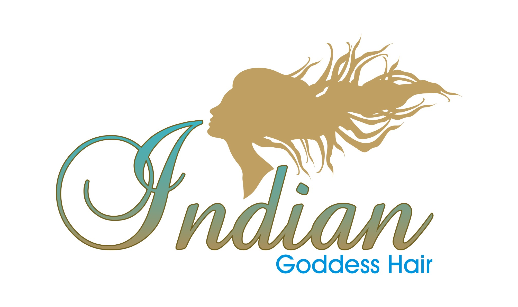 Logo Design by Private User - Entry No. 10 in the Logo Design Contest Indian Goddess Hair LOGO DESIGN.