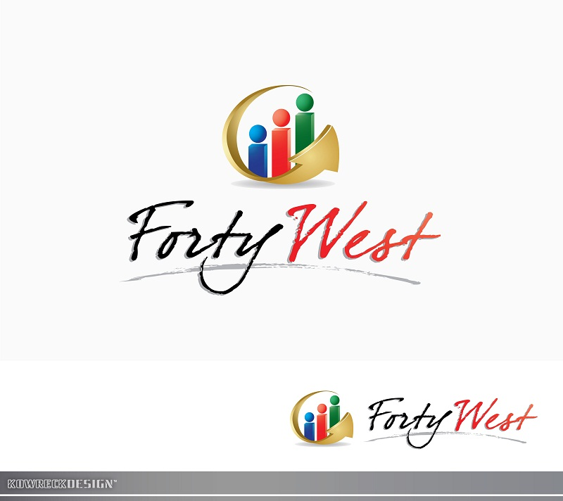 Logo Design by kowreck - Entry No. 5 in the Logo Design Contest Unique Logo Design Wanted for Forty West.