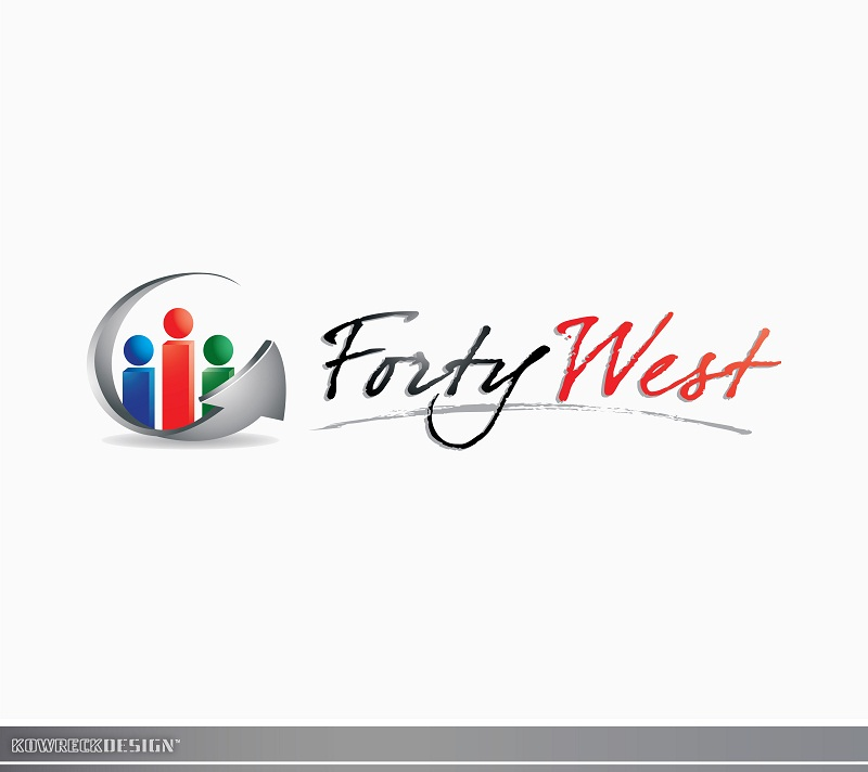 Logo Design by kowreck - Entry No. 8 in the Logo Design Contest Unique Logo Design Wanted for Forty West.