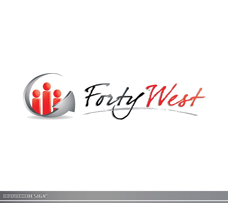 Logo Design by kowreck - Entry No. 9 in the Logo Design Contest Unique Logo Design Wanted for Forty West.