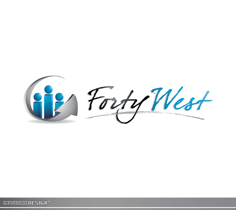 Logo Design by kowreck - Entry No. 10 in the Logo Design Contest Unique Logo Design Wanted for Forty West.