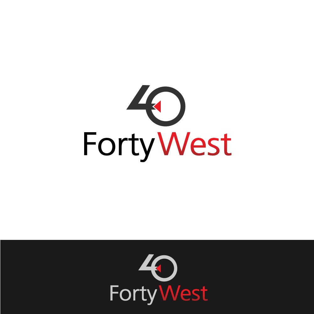 Logo Design by rockin - Entry No. 12 in the Logo Design Contest Unique Logo Design Wanted for Forty West.