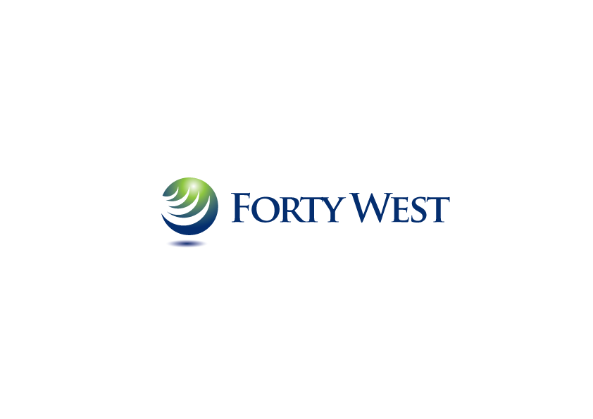 Logo Design by Severiano Fernandes - Entry No. 13 in the Logo Design Contest Unique Logo Design Wanted for Forty West.