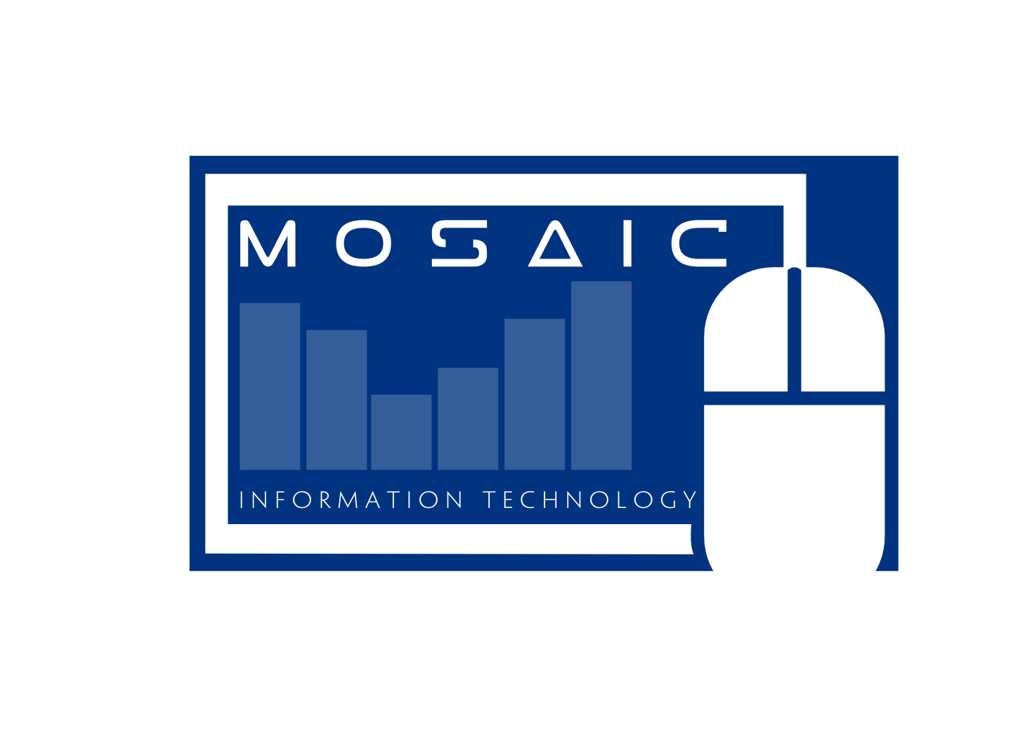Logo Design by whoosef - Entry No. 54 in the Logo Design Contest Mosaic Information Technology Logo Design.