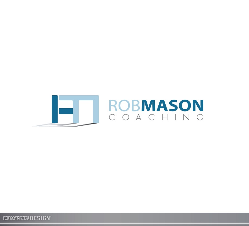 Logo Design by kowreck - Entry No. 58 in the Logo Design Contest New Logo Design Needed for Exciting Company Rob Mason Coaching.