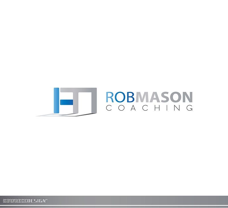 Logo Design by kowreck - Entry No. 59 in the Logo Design Contest New Logo Design Needed for Exciting Company Rob Mason Coaching.