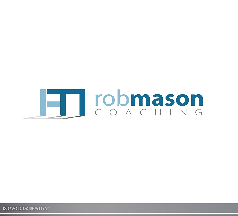 Logo Design by kowreck - Entry No. 60 in the Logo Design Contest New Logo Design Needed for Exciting Company Rob Mason Coaching.