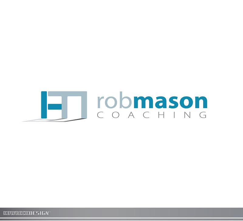 Logo Design by kowreck - Entry No. 61 in the Logo Design Contest New Logo Design Needed for Exciting Company Rob Mason Coaching.
