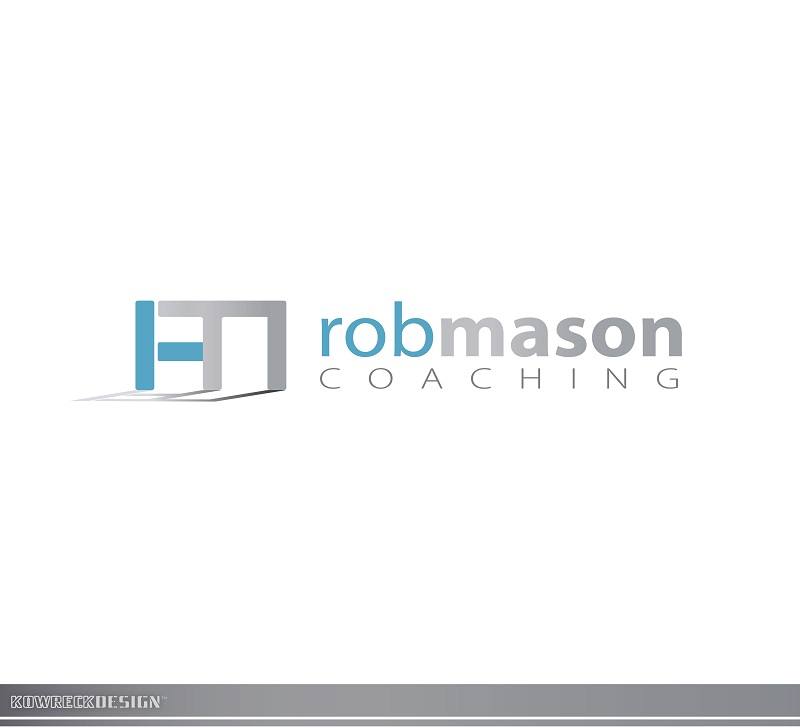 Logo Design by kowreck - Entry No. 62 in the Logo Design Contest New Logo Design Needed for Exciting Company Rob Mason Coaching.