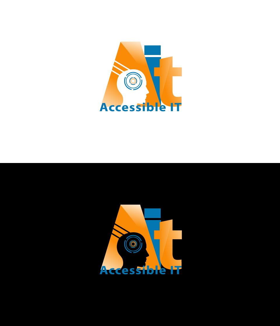 Logo Design by Private User - Entry No. 322 in the Logo Design Contest Logo Design Needed for Exciting New Company Accessible IT.