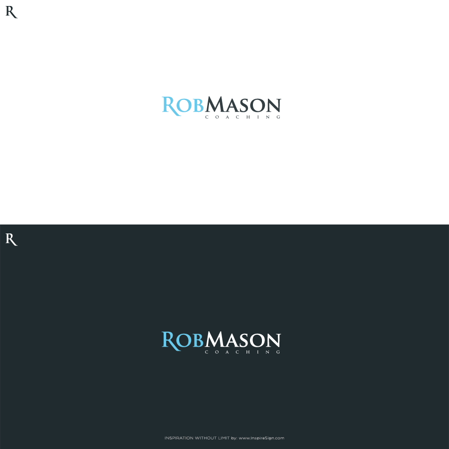 Logo Design by InspiraSign - Entry No. 66 in the Logo Design Contest New Logo Design Needed for Exciting Company Rob Mason Coaching.
