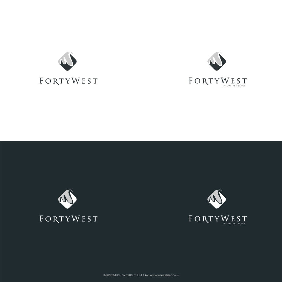 Logo Design by InspiraSign - Entry No. 22 in the Logo Design Contest Unique Logo Design Wanted for Forty West.