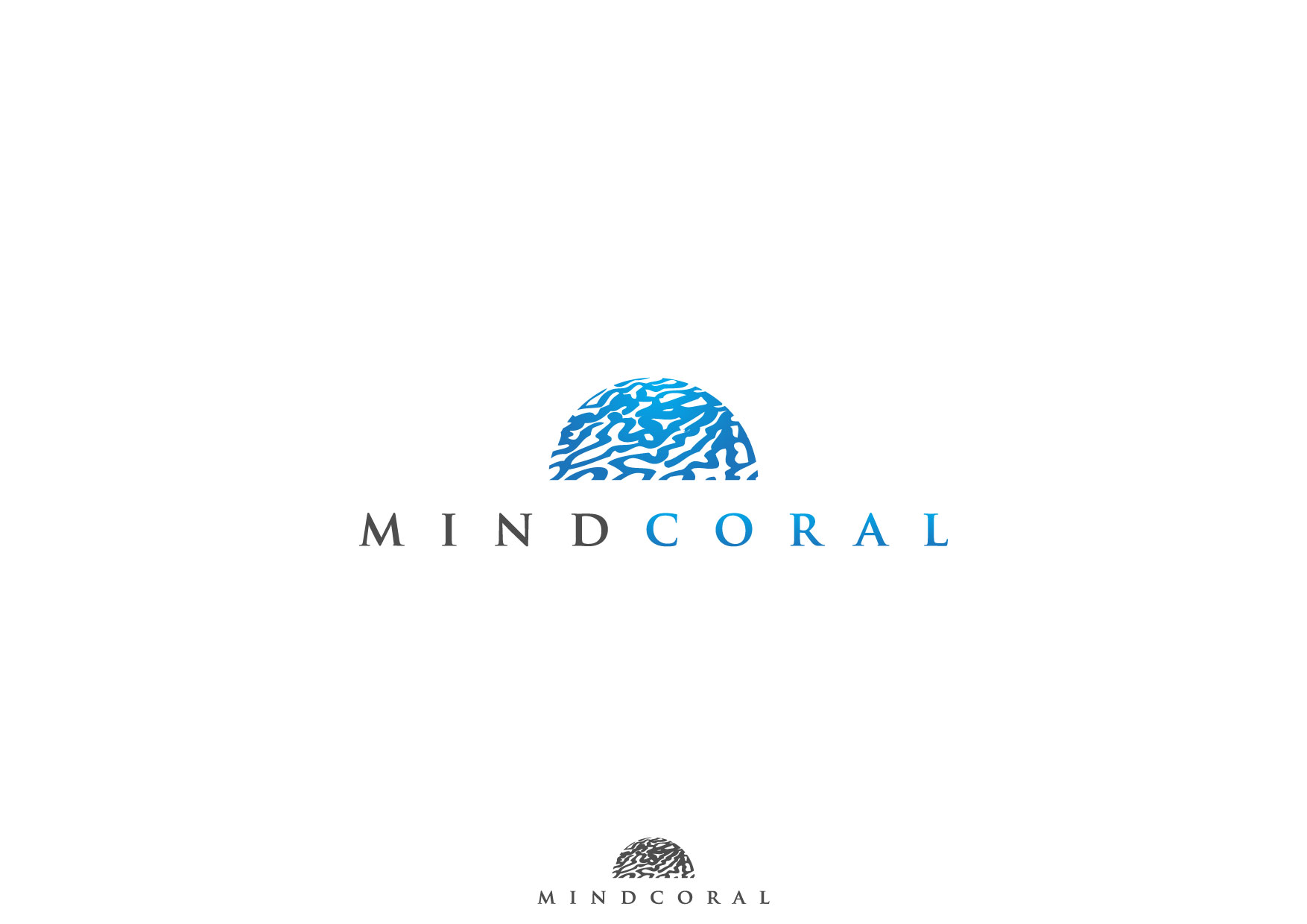 Logo Design by Nurgalih Destianto - Entry No. 21 in the Logo Design Contest Logo Design Needed for Exciting New Company MindCoral.