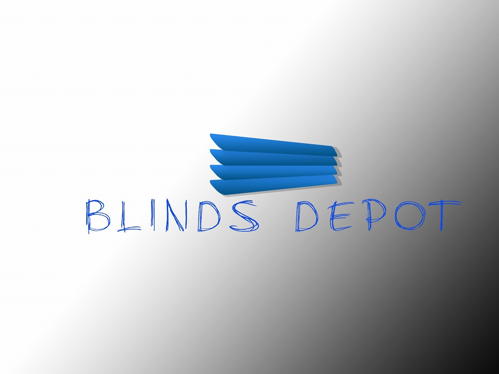 Logo Design by Jerry Nable Jr - Entry No. 38 in the Logo Design Contest Logo Design Needed for Exciting New Company Blinds Depot.