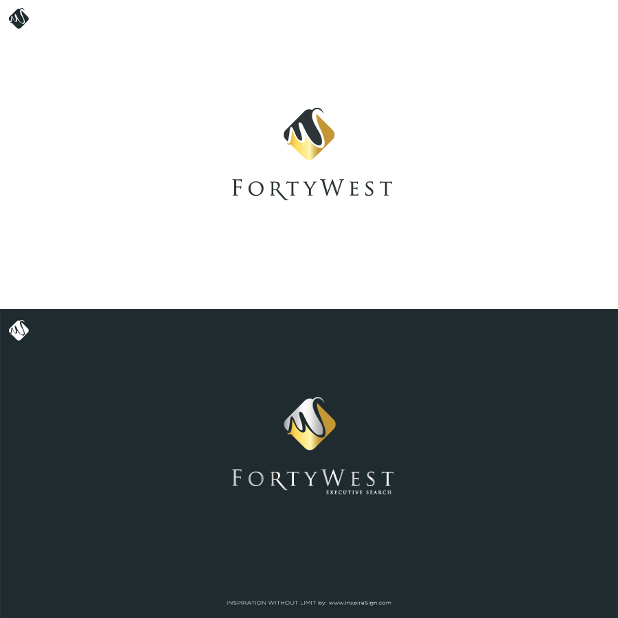 Logo Design by InspiraSign - Entry No. 28 in the Logo Design Contest Unique Logo Design Wanted for Forty West.