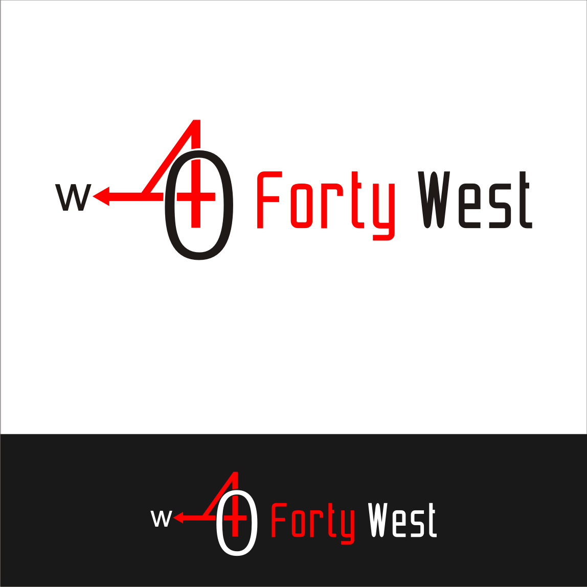 Logo Design by A Rizkiyanto Amir - Entry No. 32 in the Logo Design Contest Unique Logo Design Wanted for Forty West.