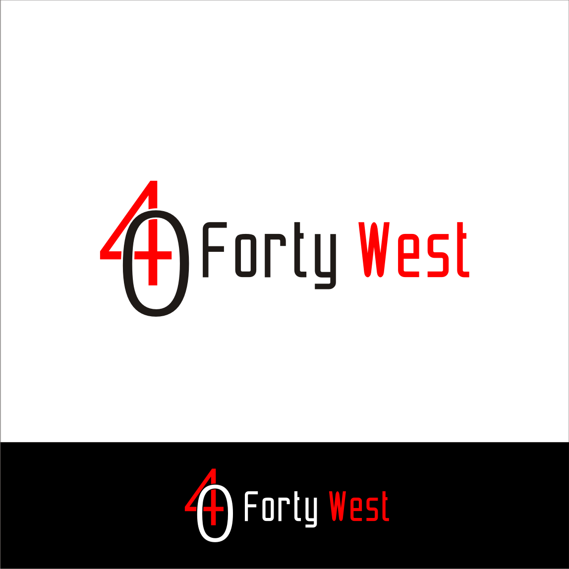 Logo Design by A Rizkiyanto Amir - Entry No. 33 in the Logo Design Contest Unique Logo Design Wanted for Forty West.