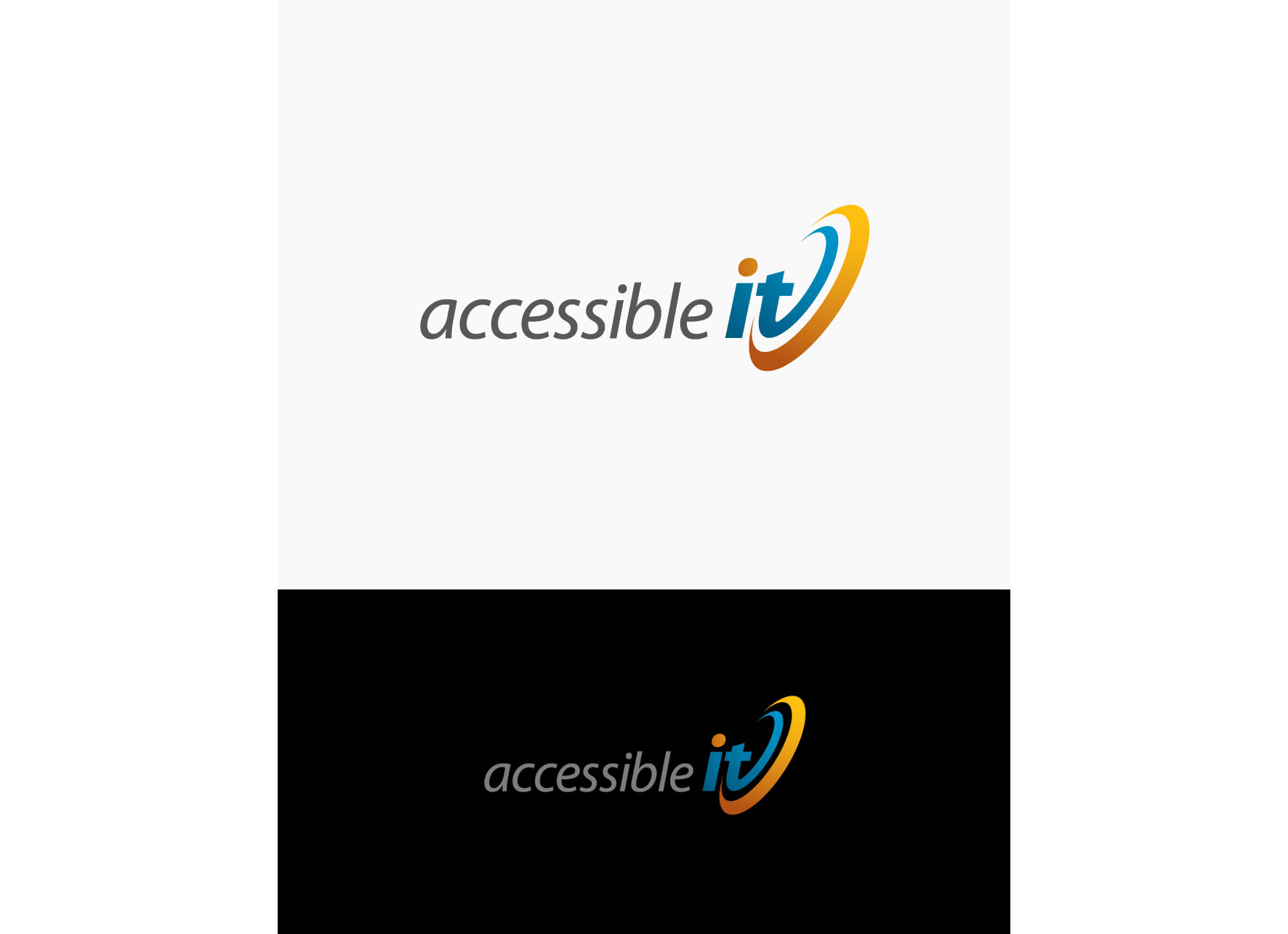 Logo Design by tanganpanas - Entry No. 329 in the Logo Design Contest Logo Design Needed for Exciting New Company Accessible IT.