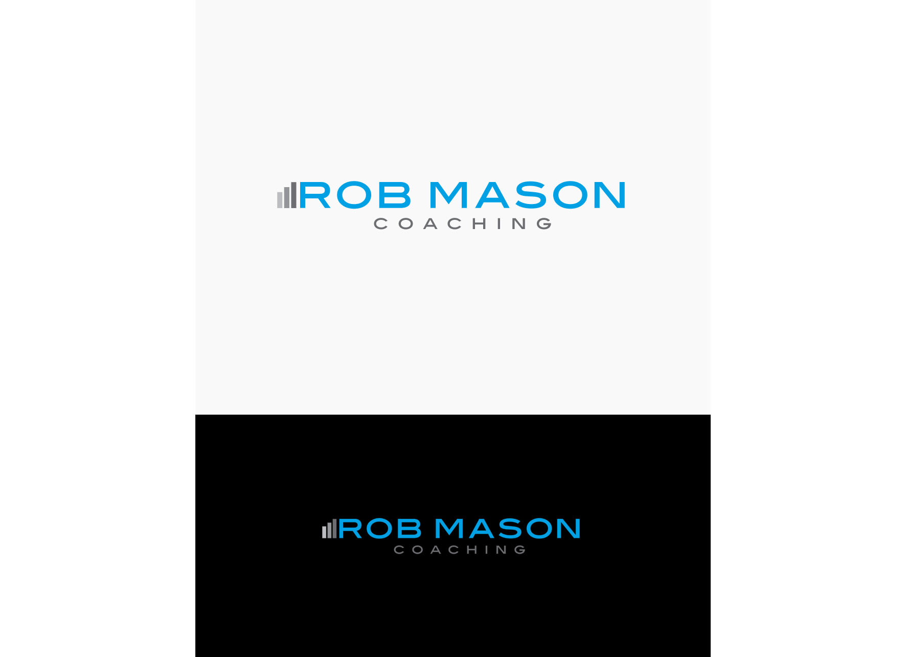 Logo Design by tanganpanas - Entry No. 68 in the Logo Design Contest New Logo Design Needed for Exciting Company Rob Mason Coaching.