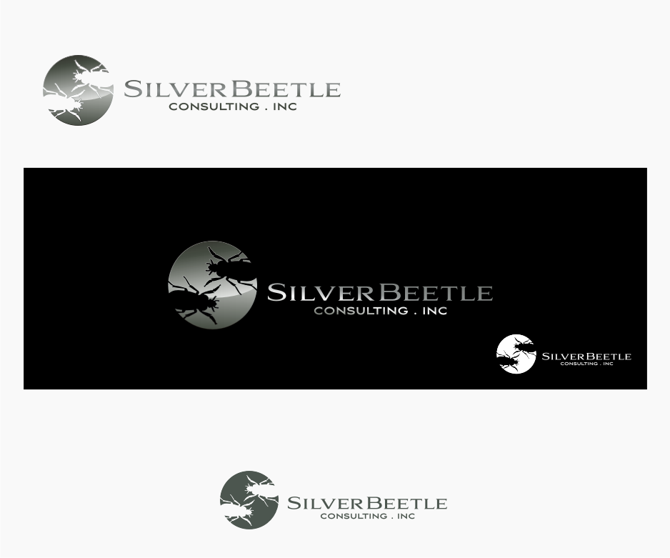 Logo Design by graphicleaf - Entry No. 8 in the Logo Design Contest Silver Beetle Consulting Inc. Logo Design.