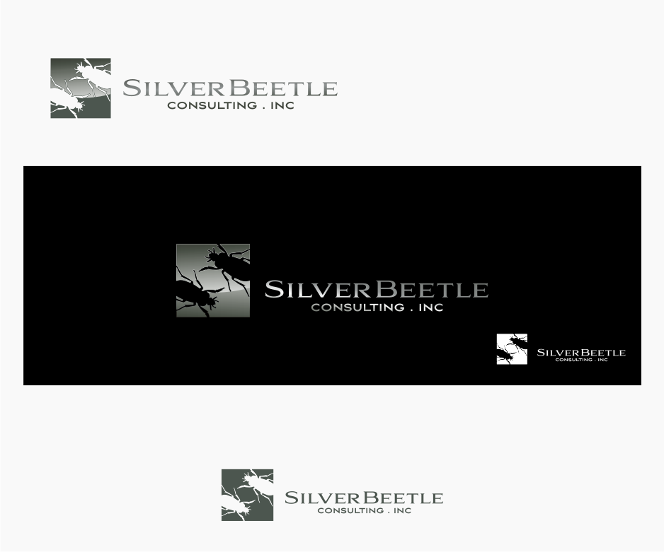 Logo Design by graphicleaf - Entry No. 9 in the Logo Design Contest Silver Beetle Consulting Inc. Logo Design.