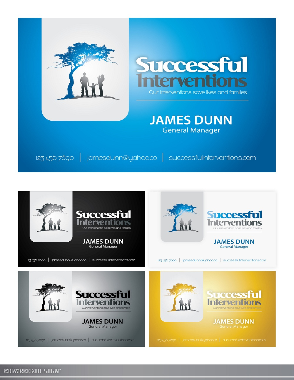 Logo Design by kowreck - Entry No. 116 in the Logo Design Contest Logo Design Needed for Exciting Company Successful Interventions.