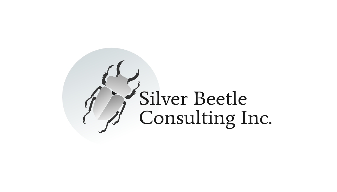 Logo Design by Артем Ершов - Entry No. 14 in the Logo Design Contest Silver Beetle Consulting Inc. Logo Design.
