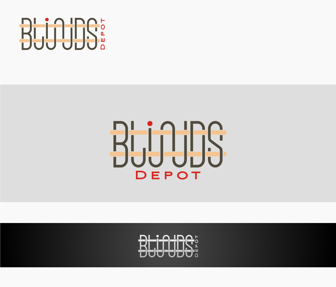 Logo Design by graphicleaf - Entry No. 39 in the Logo Design Contest Logo Design Needed for Exciting New Company Blinds Depot.