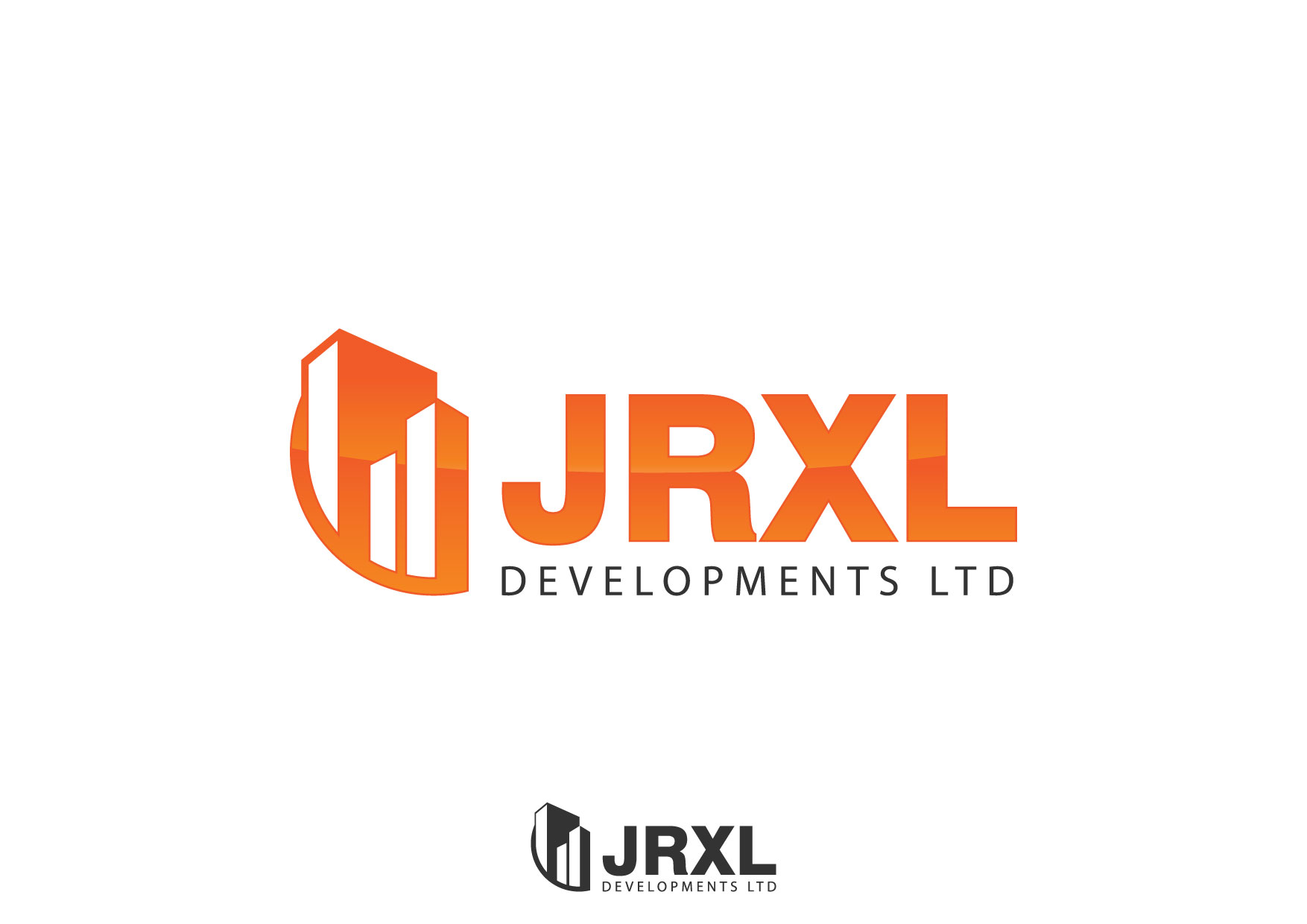 Logo Design by Nurgalih Destianto - Entry No. 54 in the Logo Design Contest JRXL DEVELOPMENTS LTD Logo Design.