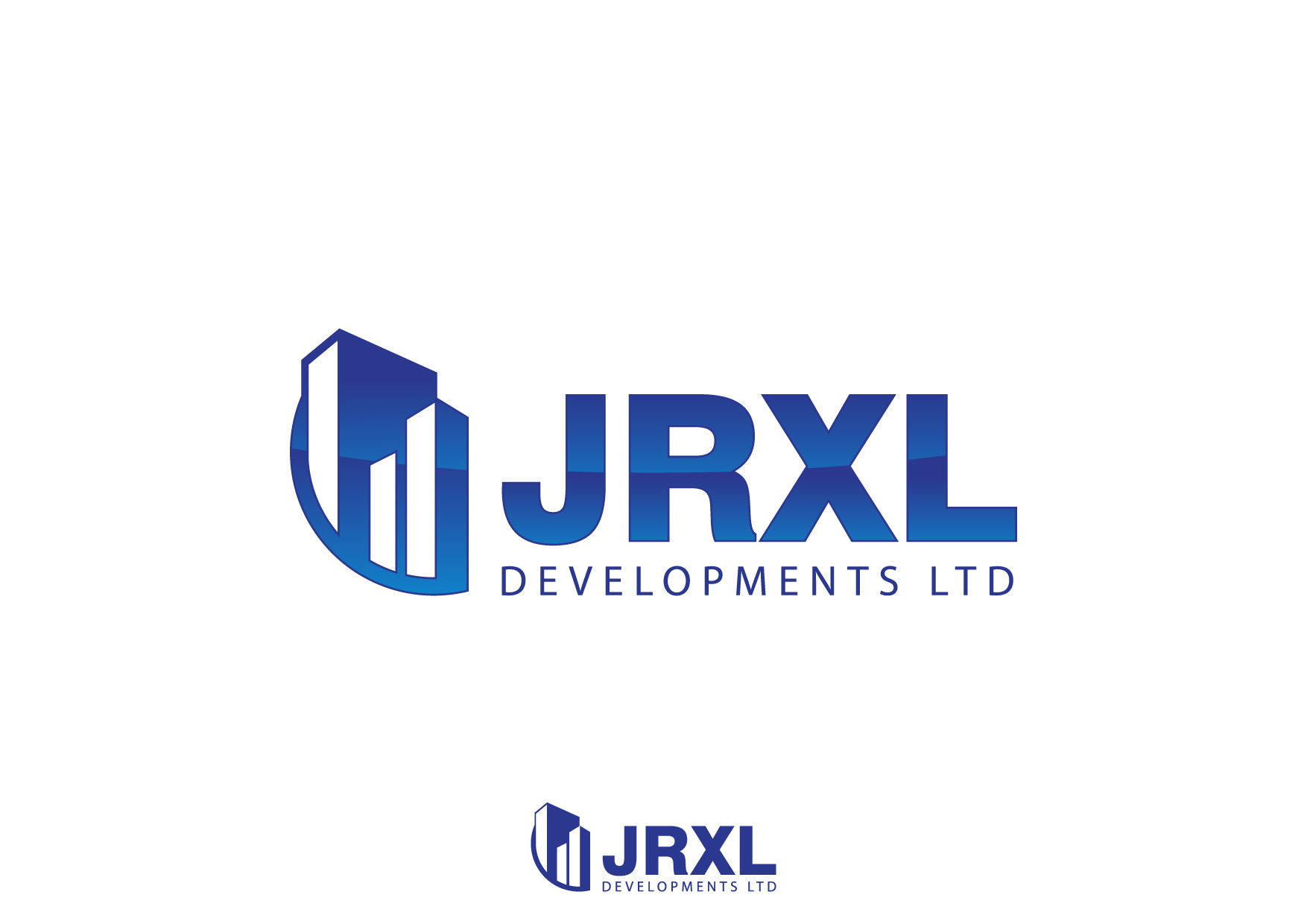 Logo Design by Nurgalih Destianto - Entry No. 55 in the Logo Design Contest JRXL DEVELOPMENTS LTD Logo Design.
