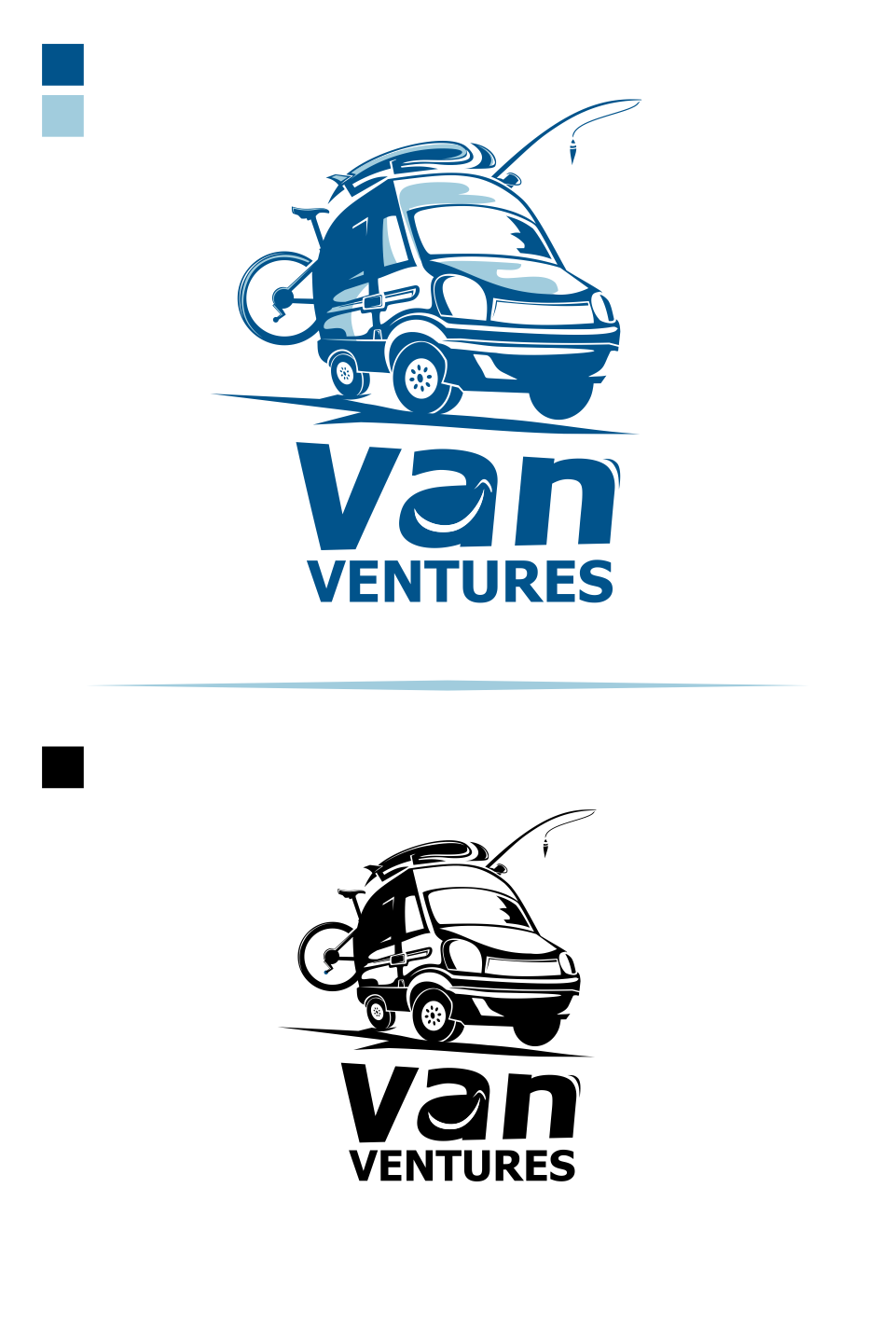 Logo Design by Mitchnick Sunardi - Entry No. 46 in the Logo Design Contest New Logo Design for Van Ventures.
