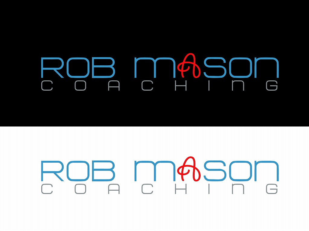 Logo Design by Jerry Nable Jr - Entry No. 72 in the Logo Design Contest New Logo Design Needed for Exciting Company Rob Mason Coaching.