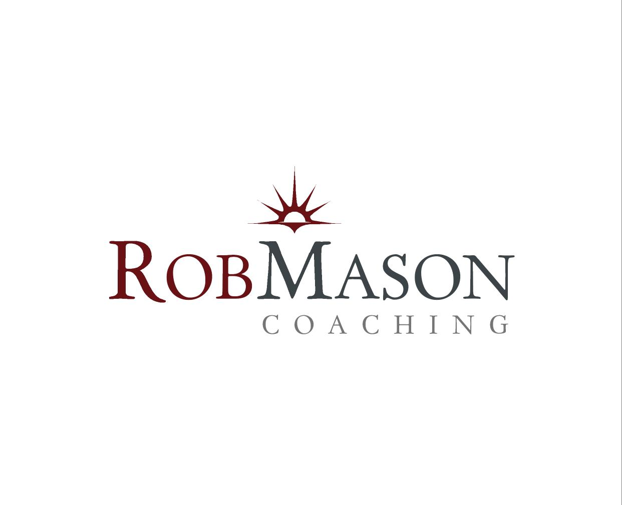 Logo Design by ZAYYADI AHMAD - Entry No. 75 in the Logo Design Contest New Logo Design Needed for Exciting Company Rob Mason Coaching.