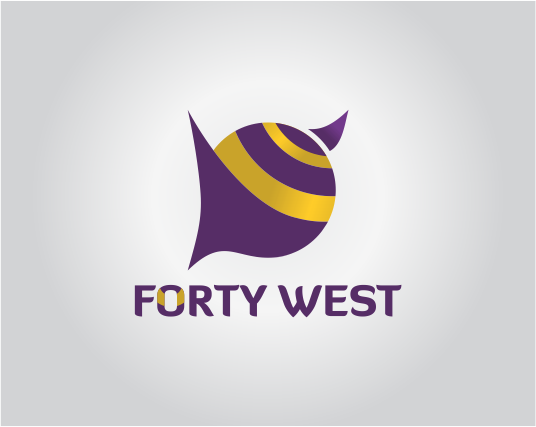Logo Design by Armada Jamaluddin - Entry No. 34 in the Logo Design Contest Unique Logo Design Wanted for Forty West.