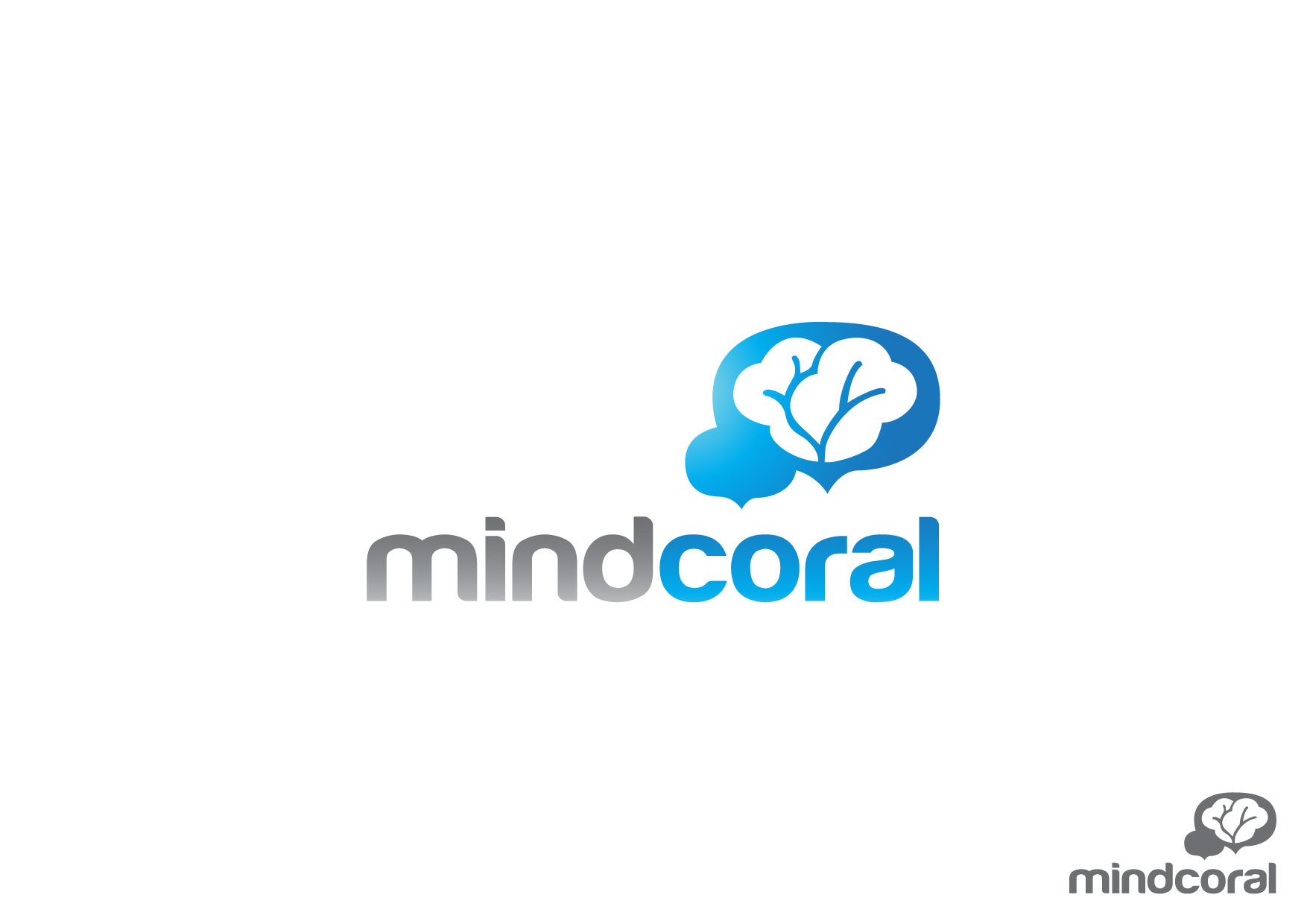 Logo Design by Nurgalih Destianto - Entry No. 40 in the Logo Design Contest Logo Design Needed for Exciting New Company MindCoral.