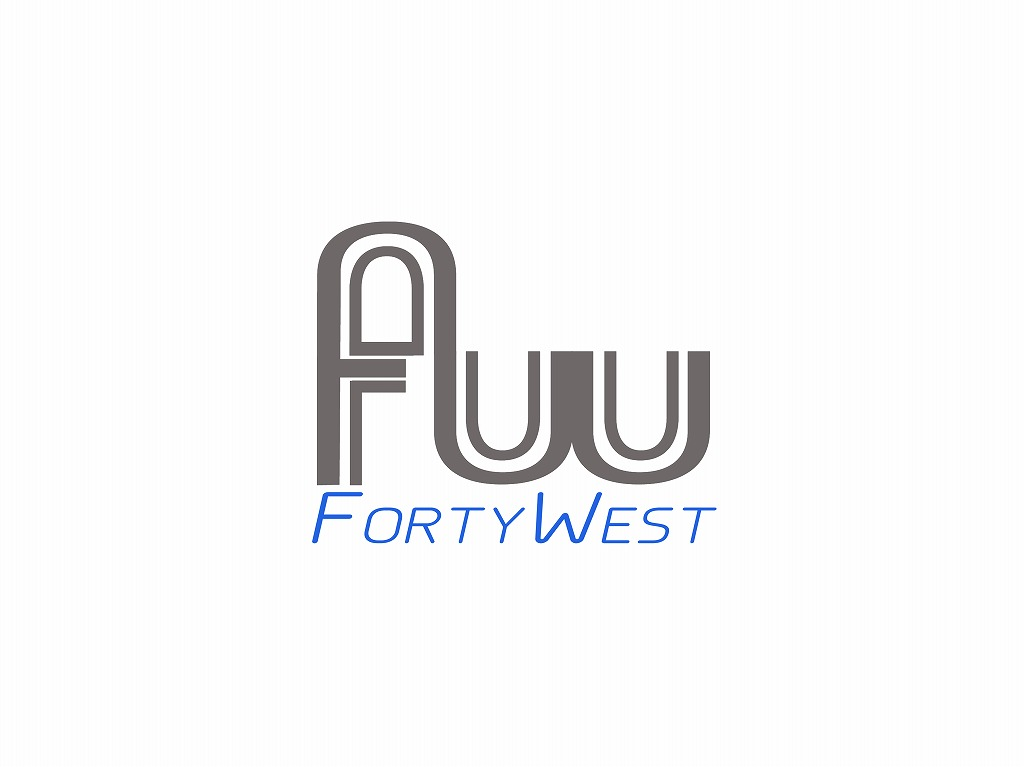 Logo Design by Jerry Nable Jr - Entry No. 35 in the Logo Design Contest Unique Logo Design Wanted for Forty West.