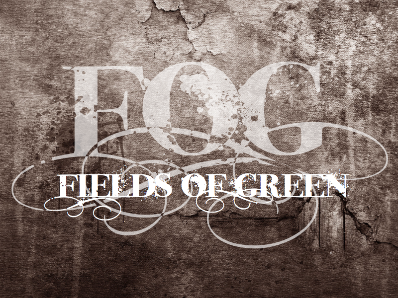 Logo Design by wagkangmakulit - Entry No. 1 in the Logo Design Contest Psych-Rock Band FIELDS OF GREEN Logo Design.