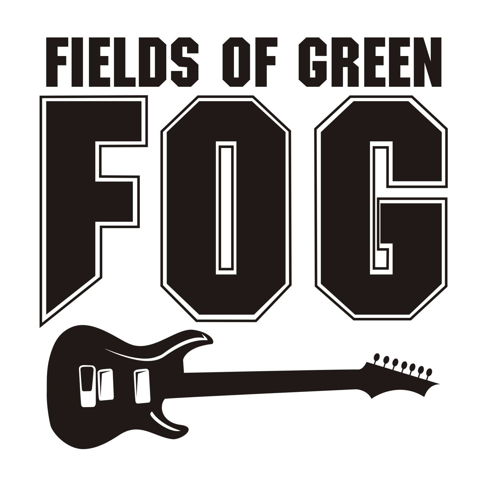 Logo Design by Private User - Entry No. 9 in the Logo Design Contest Psych-Rock Band FIELDS OF GREEN Logo Design.