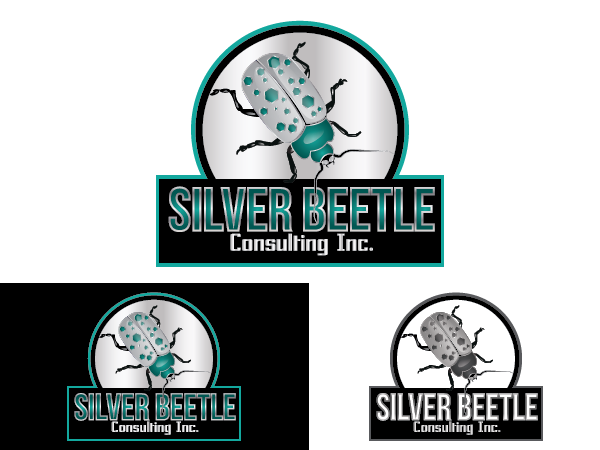 Logo Design by cOOOkie - Entry No. 20 in the Logo Design Contest Silver Beetle Consulting Inc. Logo Design.
